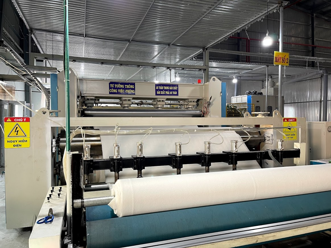 non-woven fabric production lines